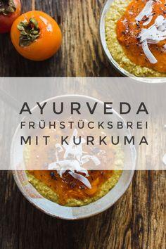 Recipe: Ayurvedic turmeric apple porridge with coconut - Ayurvedic breakfast porridge -