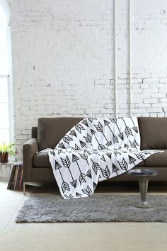 Holli Zollinger For DENY Arrow Throw Blanket - Urban Outfitters.