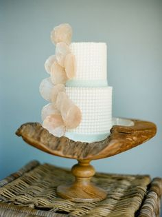 Sea-inspired cake