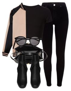 """""""Untitled #6461"""" by laurenmboot ❤ liked on Polyvore featuring River Island, Getting Back To Square One, Yves Saint Laurent and Balenciaga"""