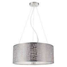 Torre 3 Light Pendant in Steel - $185.00