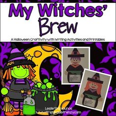 Witches Brew Halloween Craftivity