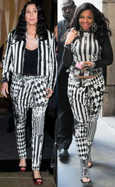 B*tch stole my look! Who do you think wore it best: Cher, Ashanti, (or Beetlejuice)? #fashion