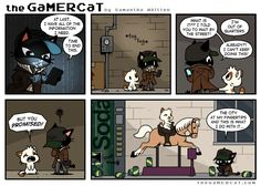 the GaMERCaT :: Watch_Cats | Tapastic - image 1 i love glich so much