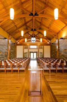 Rear view of the Wilkes Family Chapel Concord University Point in Athens, WV  gorgeoussss