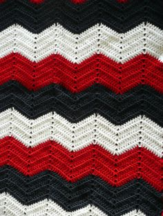 Chevron Ripple Afghan (idea not pattern)