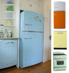 Big Chill: Retro Refrigerators for Your Vintage Kitchen | Apartment Therapy