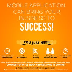 For businessmen, it is indeed− when it comes to portability− mobiles are great experiments for your business' success. Try now! #MobileApp #WOGInc