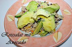 Reissalat mit Avocado