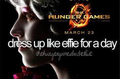 :) That would be so much fun. To bad my name wasn't Elizabeth Banks..... or Jennifer Lawrence.
