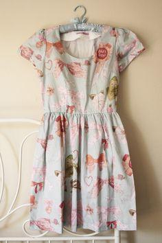 The Rosette Dress by Caitlin Shearer