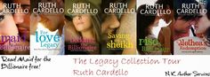 Author Sandra Love: The Legacy Collection Tour by: Ruth Cardello Blog ...