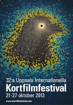 Poster for Uppsala Int. Short Film Festival 2013