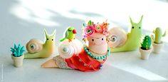 A snail that loves Frida   Flickr: Intercambio de fotos