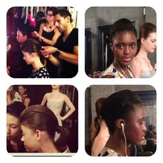 This was the EM RESERVOIR Spring Fashion Show. I was one of the hair stylist on this event.