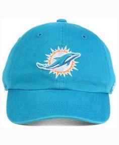 cb9f57094875b  47 Brand Kids  Miami Dolphins CLEAN UP Cap   Reviews - Sports Fan Shop By  Lids - Men - Macy s