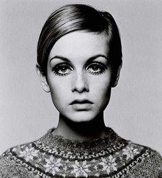 Twiggy 1960s fashion icon