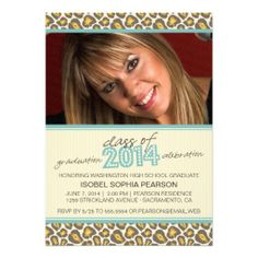 >>>Order          Class of 2014 Leopard Graduation Party Invitation           Class of 2014 Leopard Graduation Party Invitation We have the best promotion for you and if you are interested in the related item or need more information reviews from the x customer who are own of them before pleas...Cleck Hot Deals >>> http://www.zazzle.com/class_of_2014_leopard_graduation_party_invitation-161587243699244293?rf=238627982471231924&zbar=1&tc=terrest