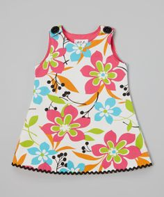 Fuchsia & White Floral Jumper - Infant, Toddler & Girls | Daily deals for moms, babies and kids