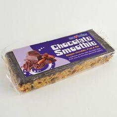 Luxusní záležitost pro všechny, kdo rádi čokoládu a ořechy - obří ovesná tyčinka s belgickou čokoládou, mandlemi, rozinkami a lískovými ořechy, potěší každého mlsala.