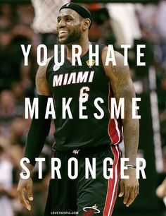 Quote from LeBron James. The best player in the NBA Basketball Is Life, Basketball Players, Basketball Stuff, James Basketball, Basketball Motivation, Women's Basketball, Basketball Legends, Volleyball, Lebron James Quotes