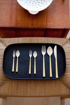 The long awaited brass and silver cutlery by Masanori Oji for Futagami now availab.e