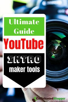 Creating the perfect YouTube intro is not so easy and that is why YouTube intro makers are gaining more and more recognition for their easy and effective way to customize the intro. Check out our Ultimate YouTube Intro Maker Tools list to find your favourite tool including free ones! Intro Youtube, Free Youtube, You Youtube, Youtube Hacks, Youtube Setup, Youtube Money, Marketing Software, Social Media Marketing, Marketing Ideas