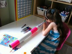 Rockabye Butterfly made this awesome didgeridoo craft w/instructions from my site!