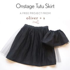Just in time for last-minute holiday sewing, here's a free pattern for a quick and fun skirt that can be made for a girl and her doll.