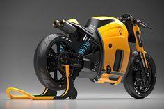 Koenigsegg Motorcycle Concept by Burov Art 3