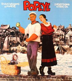 Popeyes The Movie with Robin Williams