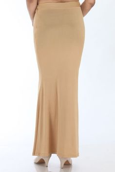 The Mandira Bedi signature Slimming Petticoat – Mandira Bedi Sarees Lehenga, Sarees, Saree Petticoat, Sewing Hacks, Slim, Beige, Yellow, Black, Dresses