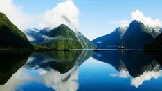 Visit World Heritage Site Milford Sound, a fjord in New Zealand. Into The Wild, Visit New Zealand, New Zealand Travel, Places To Travel, Places To See, Travel Destinations, Travel Trip, Free Travel, Travel Deals