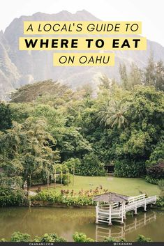 A local's guide to the best places to eat on Oahu, Hawaii. The best malasadas, shave ice, views, and more. Oahu Hawaii / Oahu Hawaii things to do in / Oahu Hawaii secrets / Oahu food guide / Oahu food restaurants / Honolulu Hawaii / Honolulu Hawaii things to do in / North Shore Oahu / Hawaii food guide / Oahu eats / best places to eat in Oahu / where to eat in Oahu / Waikiki Hawaii / #oahu #hawaii #foodguide #honolulu #waikiki Hawaii Usa, Honolulu Hawaii, Hawaii Travel, Honolulu Restaurants, Hawaii Things To Do, North Shore Oahu, Waikiki Beach, Best Places To Eat