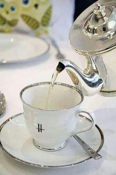 Tea at Harrods.