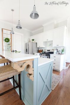 The Lettered Cottage Kitchen | Farmhouse Style