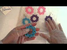 Como almidonar labores de frivoliê y crochet