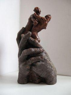 Création - E.Lacroix-Mathieu Sculptures, Lion Sculpture, Creations, Greek, Statue, Art, Terracotta, Figurative, Art Background