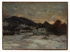 Anders Andersen-Lundby (1840-1923), Winter Landscape, c. 189