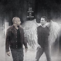 You'll always be my brother (not claiming this to be my work, all props to the person who made it!)  R.I.P. Paul Walker