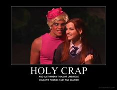Just when you thought Umbridge couldn't get any scarier...