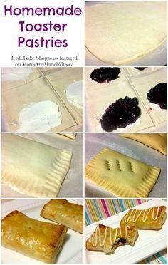 Toaster Strudels (Homemade Recipe)