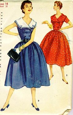 Commercial Pattern Archive - This site helps with dating vintage patterns.