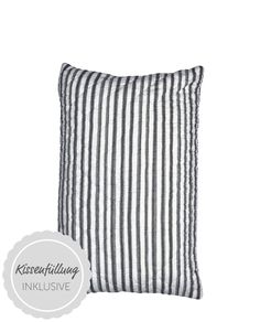 Amanda Kissen Stripe dark grey