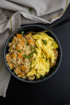 Sweet Potato and Millet Breakfast Bowl