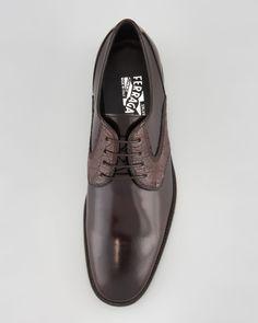 Salvatore Ferragamo Aleppo Saddle Shoe.