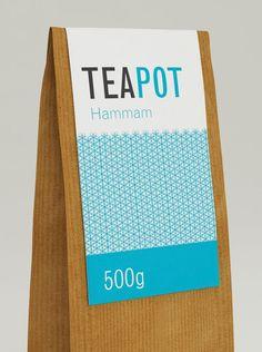 Tea Branding : colorful