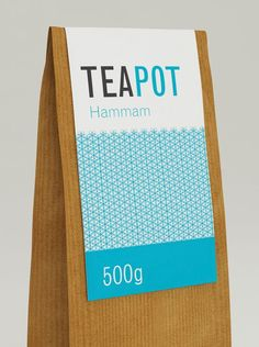 Tea Branding : colorful