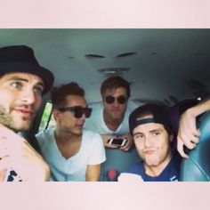 Meet Anthem Lights: Chad Graham, Alan Powell, Joey Stamper, Caleb Grimm.... The one in the middle is Chad Graham he's the one I like/love...... Chad Graham in the middle....