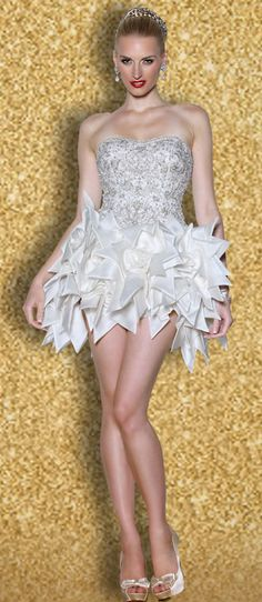 Yumi Katsura Couture reception dress